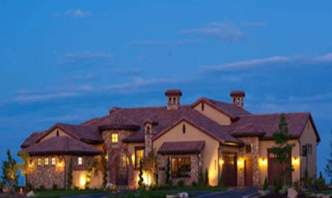 Luxury House Plans One Story Homes French Country
