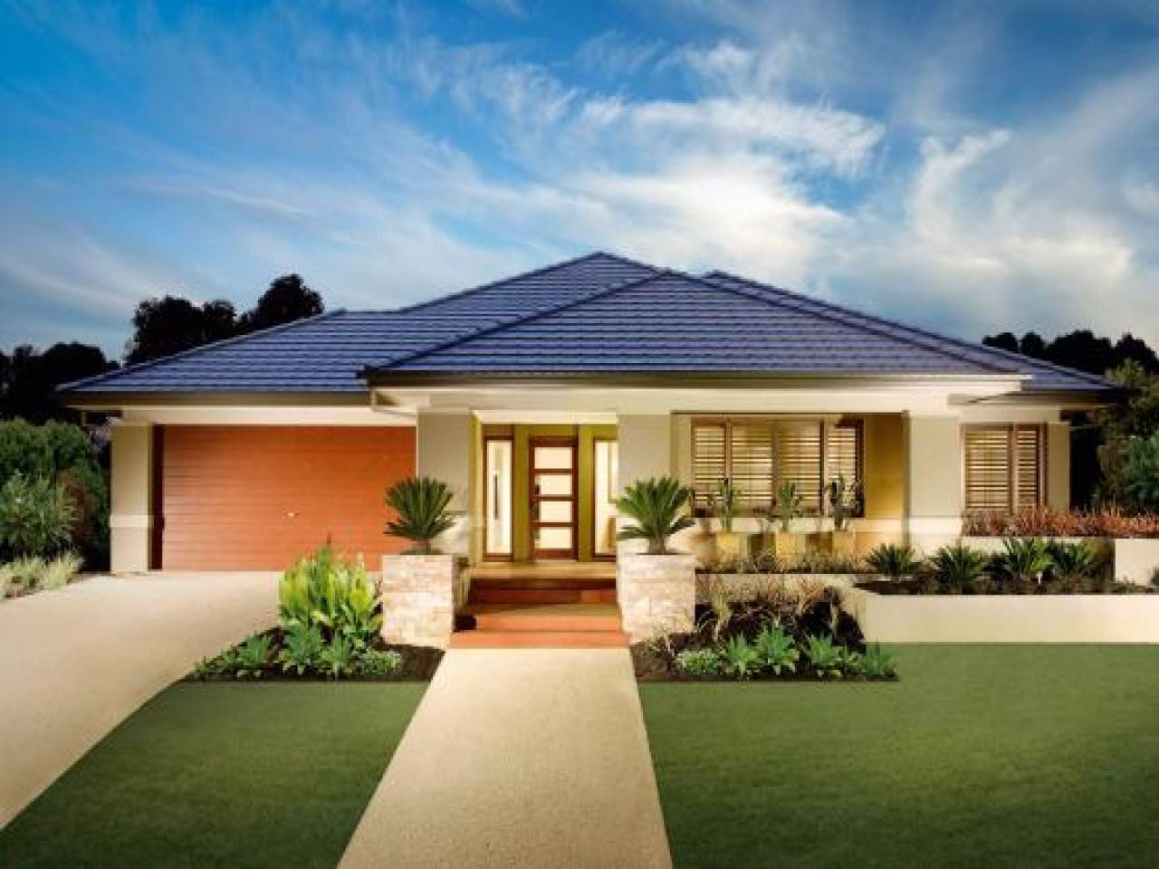 Luxury House Plans One Story Homes Home Improvements House Plans 99478