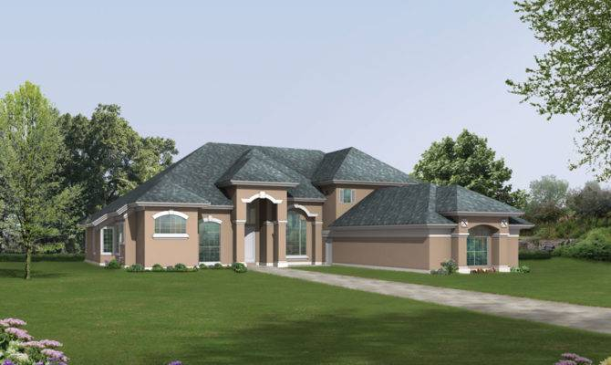 Luxury House Plans Santa Southwestern