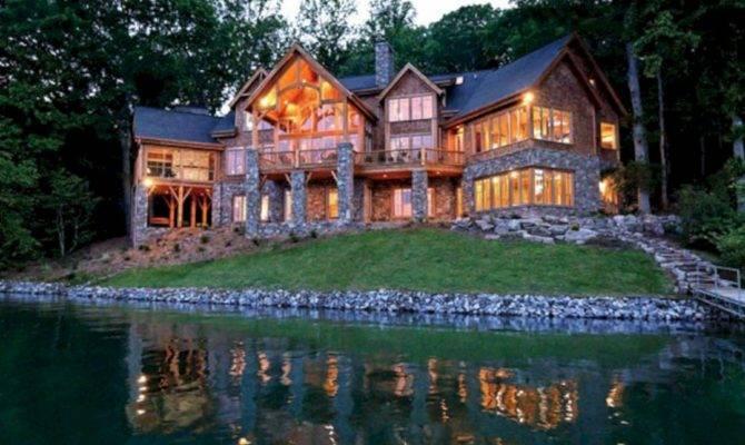 Luxury Lake House Plans Design