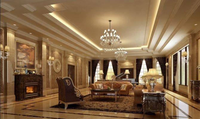 Luxury Lighting Sofa Living Room Interior Design House