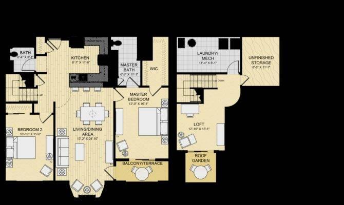 Luxury Loft Floor Plans Homes