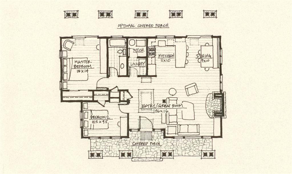 Log Cabins Cabin Floor Plans Homes