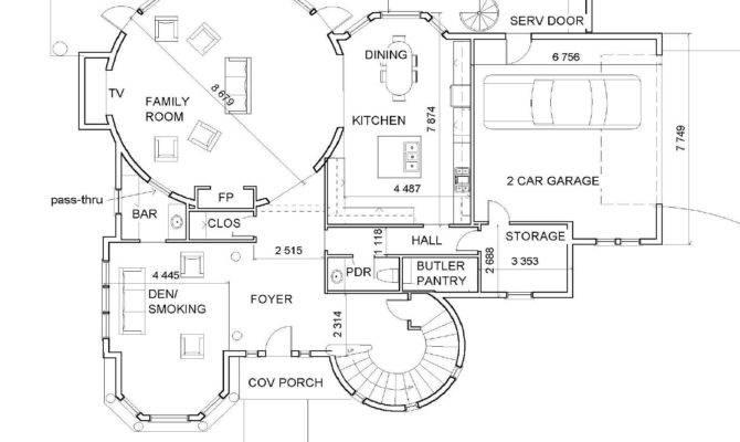 Luxury Mansion Floor Design Offer Custom Homes