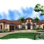 Luxury Mediterranean House Plans Photos