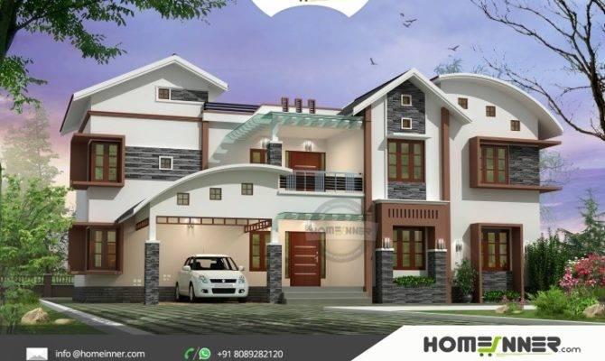 Luxury Modern Bedroom Indian Villa Design Sqft