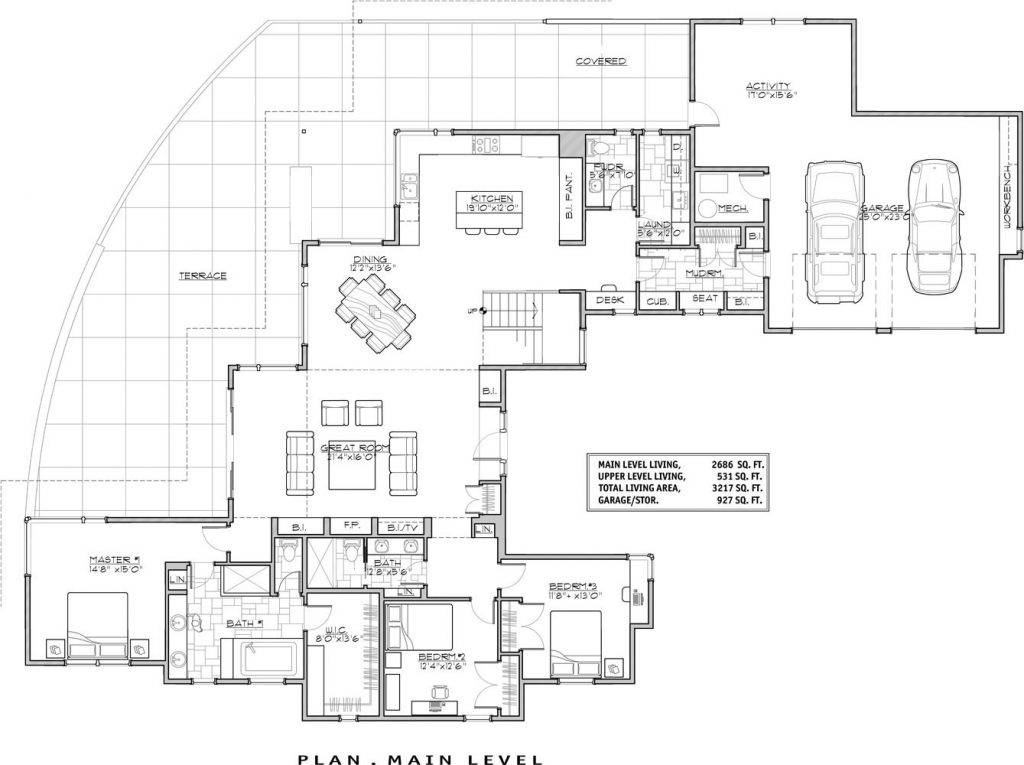 Luxury Modern House Floor Plans New, Luxury Contemporary Home Plans