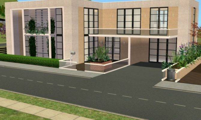 Luxury Modern House Sims Skin Mods