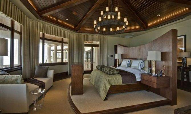 Luxury Modern Mansion Bedrooms Get Relaxing Atmosphere