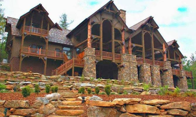 Luxury Mountain House Plans Ayanahouse