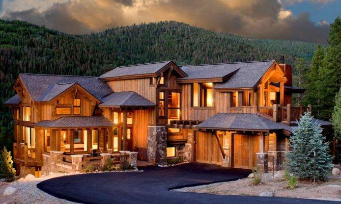 Luxury Mountain Houses Things