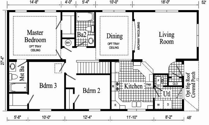 Luxury Ranch House Plans Basement