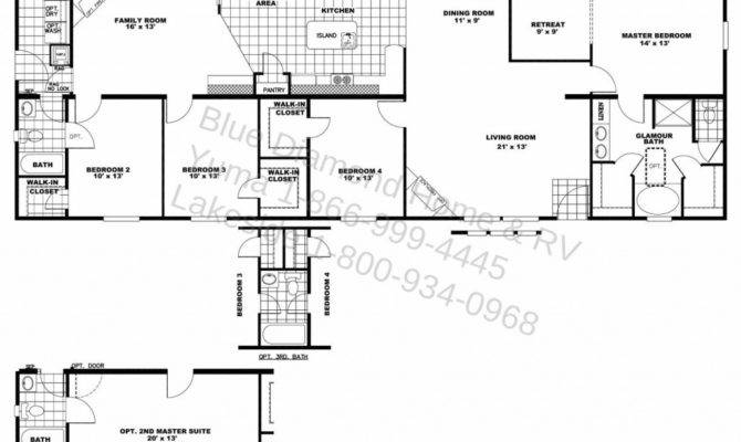 Luxury Ranch Style House Plans Two Master Suites