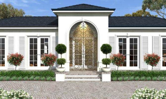 21 Spectacular Luxury Single Story Homes House Plans