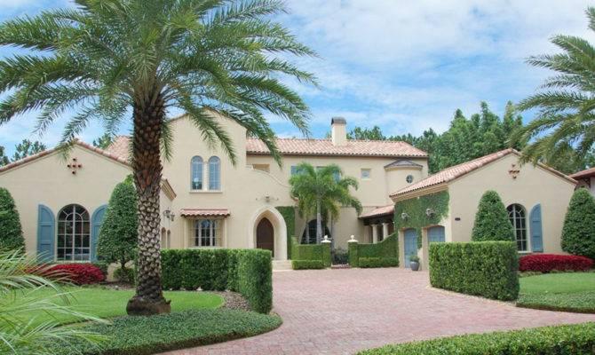 Luxury Spanish Colonial House Plan