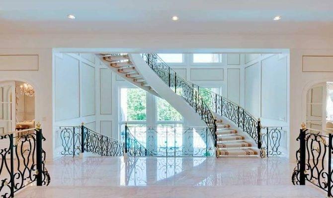 Luxury Spiral Staircase Stairs White Stairways