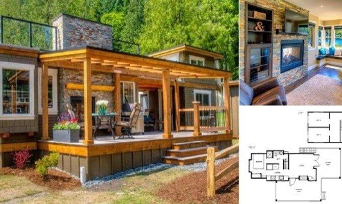 Luxury Tiny Cottage Rooftop Terrace Home Design