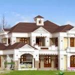 Luxury Villa Exterior Kerala Home Design Floor Plans