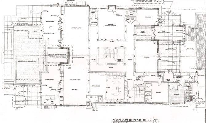 Luxury Waterfront Home Floor Plans Bal Harbour Estates New