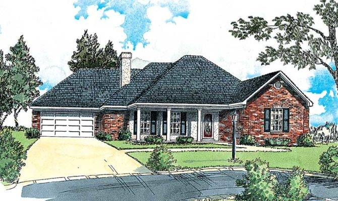 Madsen Traditional Ranch Home Plan House Plans More