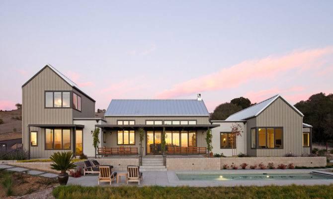 Magnificent Modern Farmhouse Garage Pool Porch