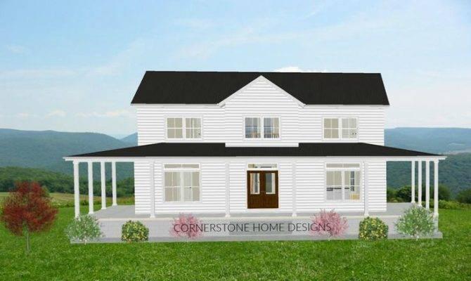 Magnolia Farmhouse Plan Simple Layout