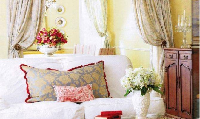Maison Decor French Country Enchanting Yellow White