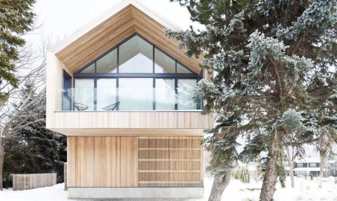 Maison Glissade Ski Chalet Scandinavian Exterior