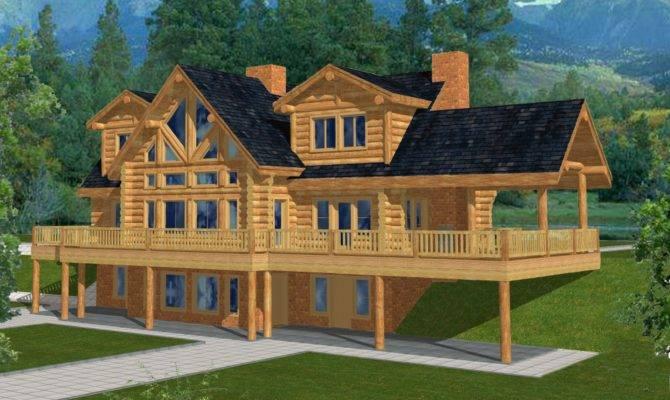 Majestic Style Log Home Design Coast Mountain Homes