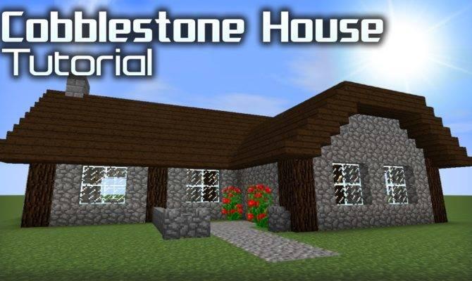 Make Good Cobblestone House Minecraft Youtube