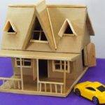Make Miniature House Out Cardboard Easy