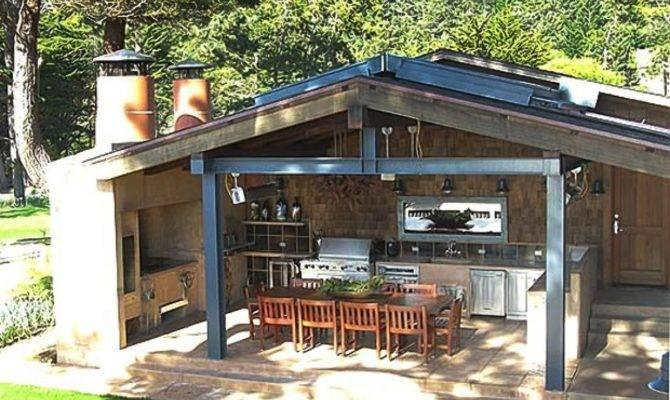 Make Outdoor Kitchen Design Plans Effectively