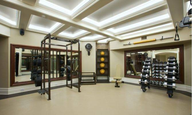 Make Personal Luxury Home Gym Design High End