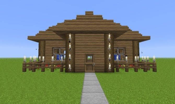 Make Simple House Minecraft Beginners