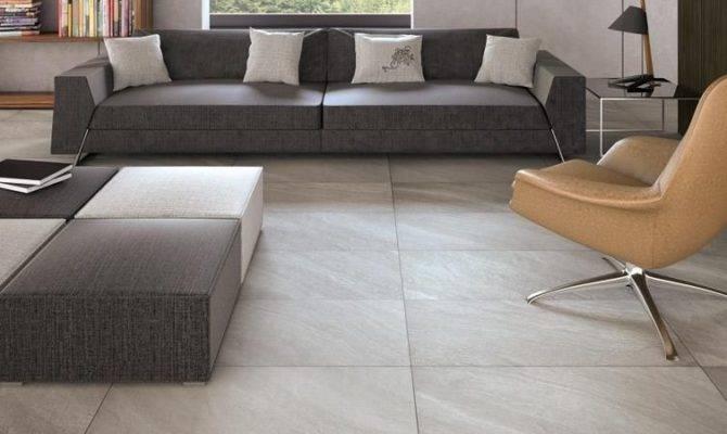 Make Statement Large Floor Tiles