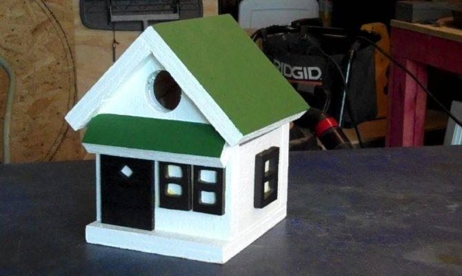 Making Fast Easy Bird Houses Youtube