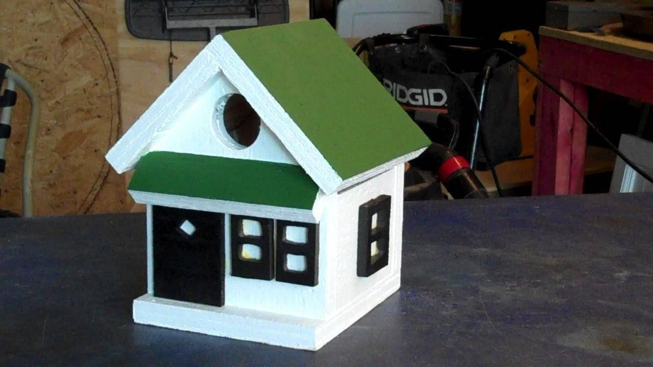 Making Fast Easy Bird Houses Youtube