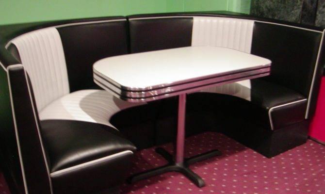 Malibu Series Half Circle Diner Booth Bars Booths