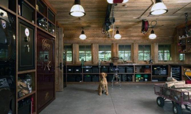 Man Cave Garage Ideas Modern Industrial Designs