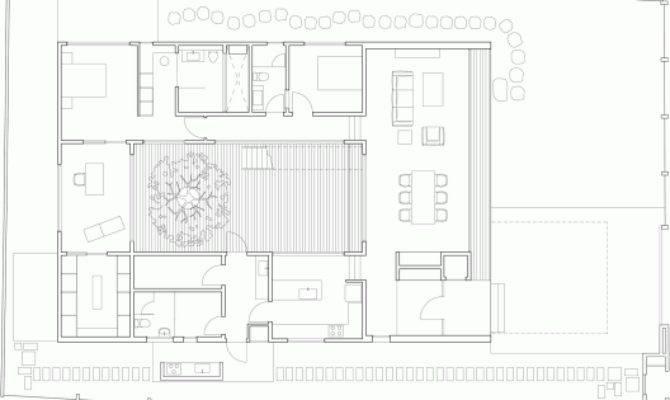 Mandai Courtyard House Atelier Archdaily