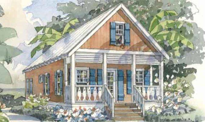 Mango Cottage Coastal Living Southern House Plans
