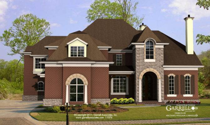 Manor House Plan Front Elevation Traditional Style Plans