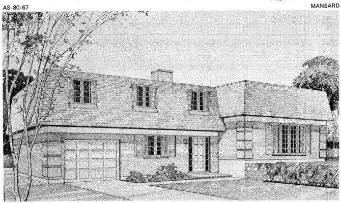 Mansard Roof House Plans Modernrealtor Blogspot