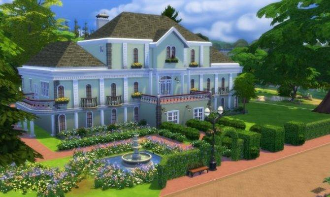 Mansion Castle Lane Jamie Mod Sims