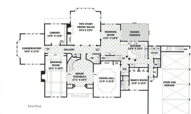 Mansion Floor Plan Luxury Plans Own Building