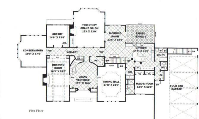 Mansion Floor Plan Luxury Plans Own Building