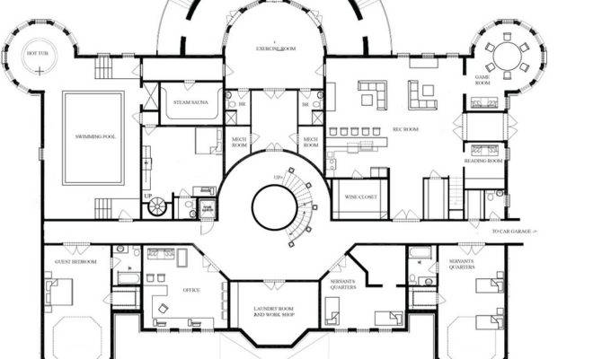 Mansion Floor Plans Acvap Homes Inspiration
