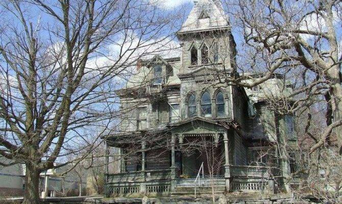 Mansion Haunted House Bridges Abandoned Houses Mansions