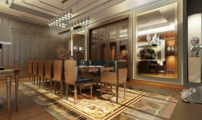Mansion Kazan Designed Erik Bernard French Interior