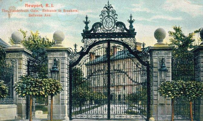 Mansions Gilded Age Newport